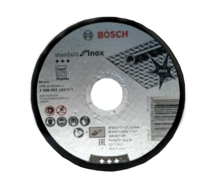 Rezna ploča INOX 115x1x22