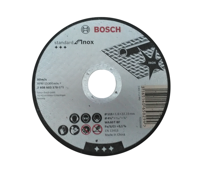 Rezna ploča INOX 115x1.6