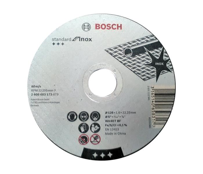 Rezna ploča INOX 125x1.6