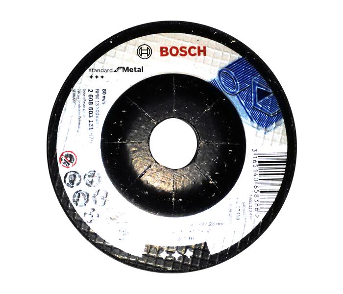 Brusna ploča za metal 115x6x22