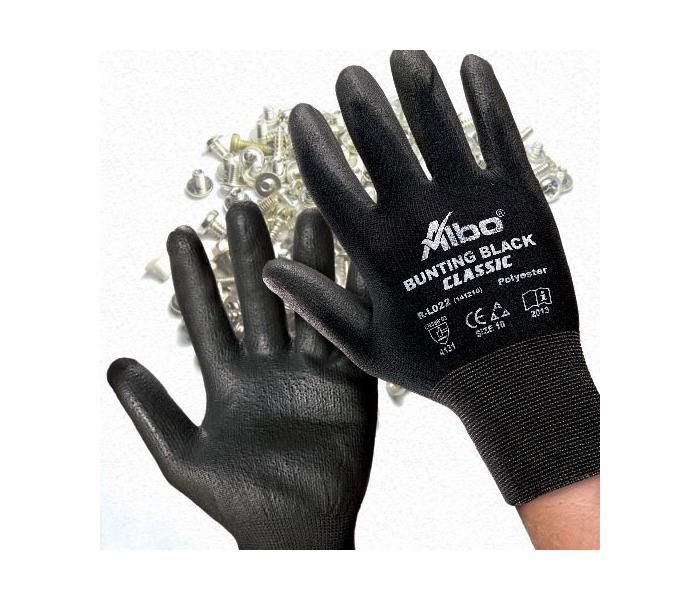 Rukavice zaštitne bunting black,poliuret albo XL
