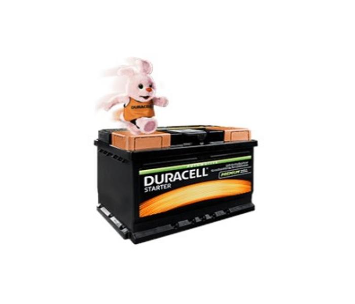Akumulator Duracell starter 12v,95ah, D+,720a 354*175*190 DS 95