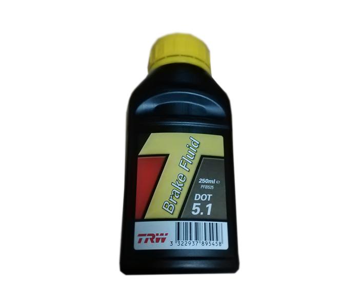 Ulje za hidraulične kočnice DOT 5.1 0.25/1l TRW