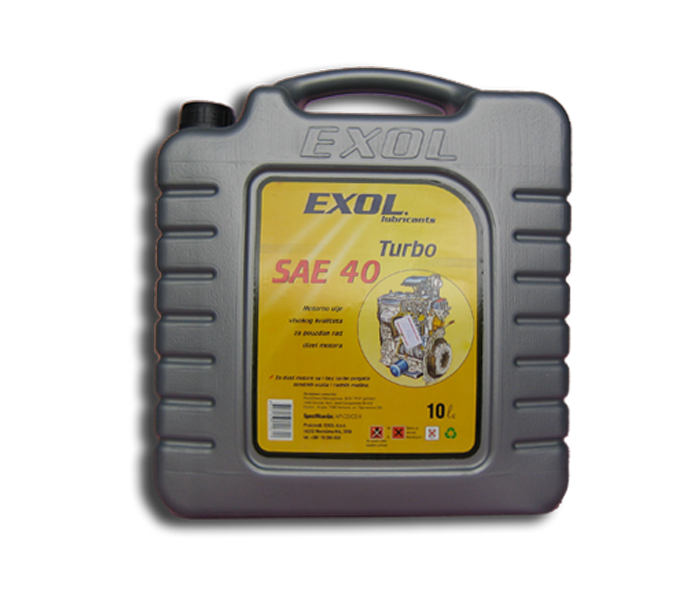 Exol Turbo SAE 40 10/1