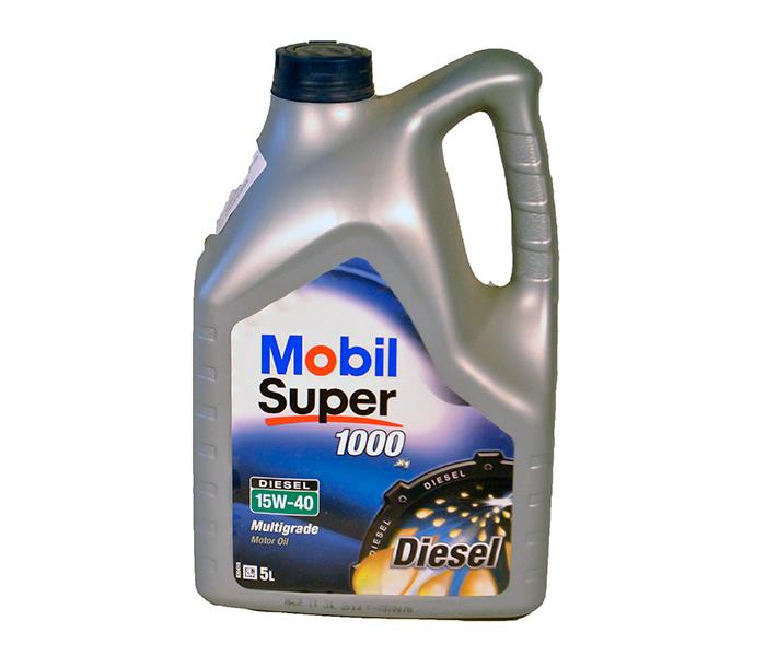 Mobil super 1000x1 diesel 15W40 5l