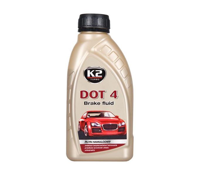 Ulje za hidraulične kočnice DOT4 0.5l K2