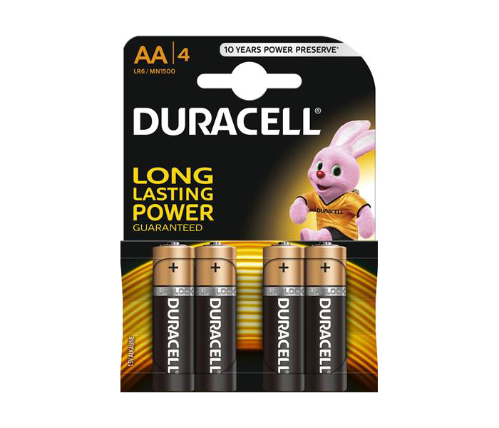 Baterija Duracell Basic AA 4kom