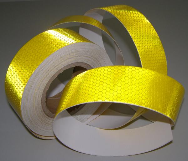 Traka reflektujuca samolepljiva žuta