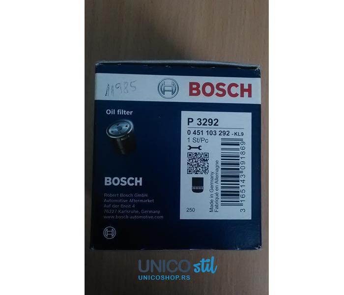 Filter ulja 0451103292 Bosch