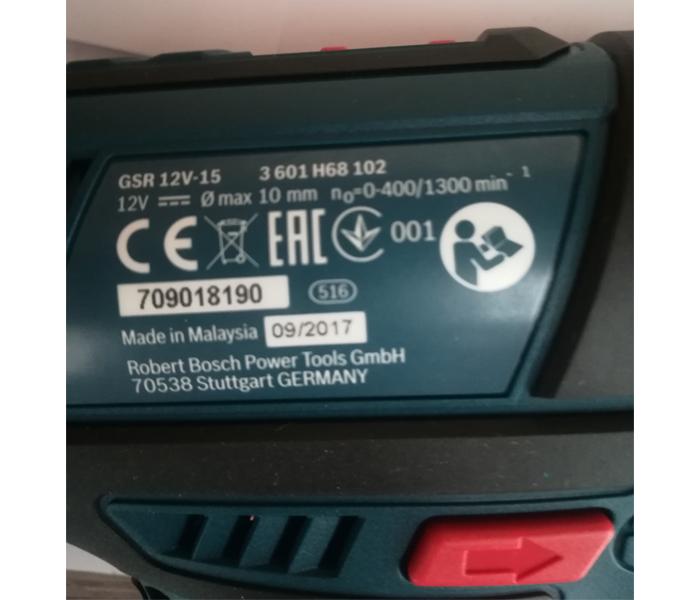 Akumulatorska bušilica GSR 12V-15 2Ah L-BOXX
