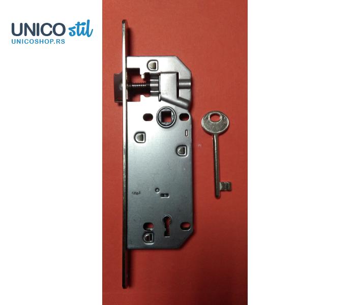 Brava-ključ 6.5cm niklovana