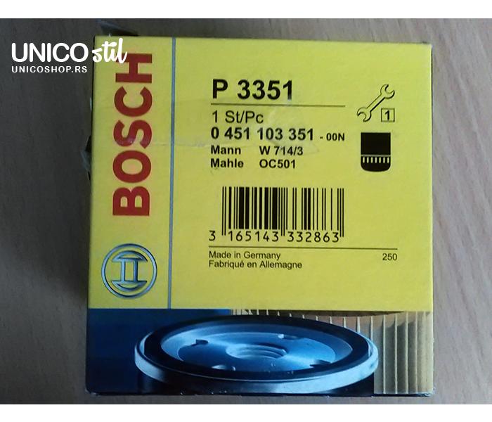 Filter ulja 0451103351 Bosch