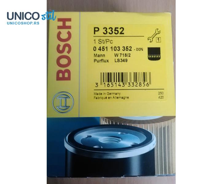 Filter ulja 0451103352 Bosch