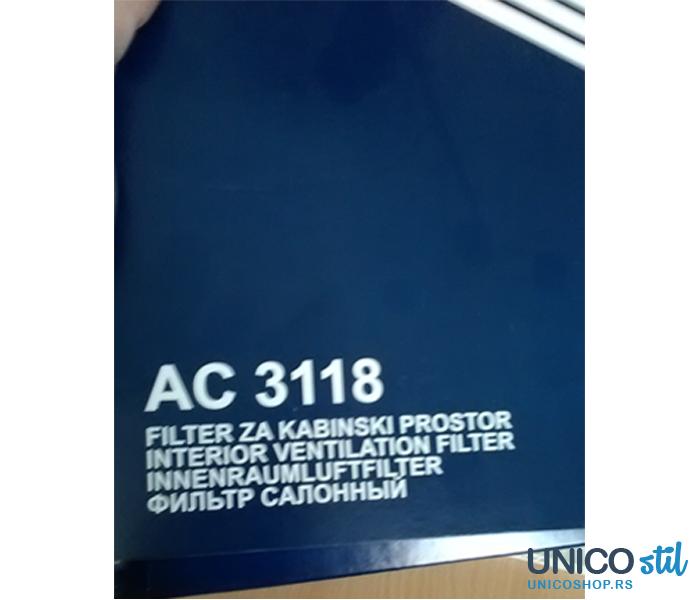 Filter kabine AC3118 Coopers