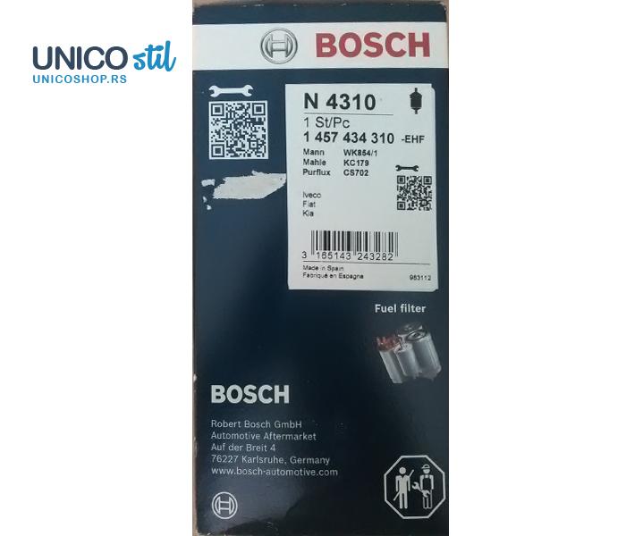 Filter goriva 1457434310 Bosch