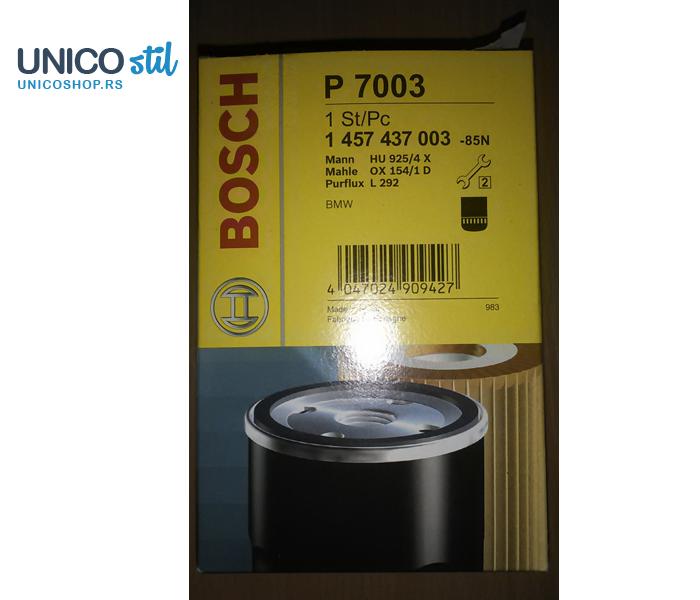 Filter ulja 1457437003 Bosch