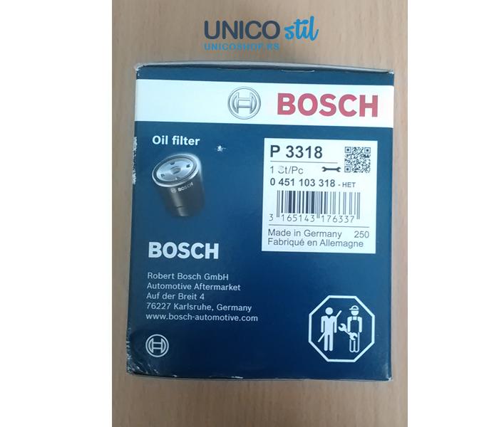 Filter ulja 0451103318 Bosch