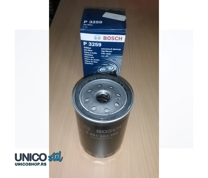 Filter ulja 0451103259 Bosch