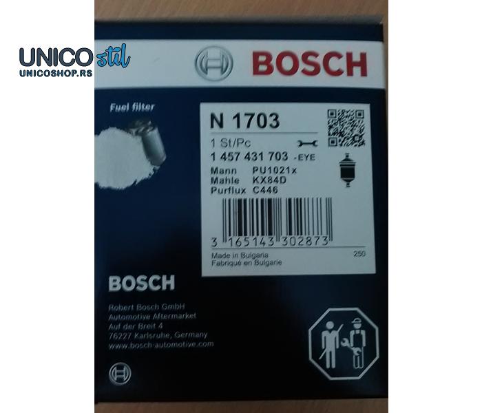 Filter goriva 1457431703 Bosch