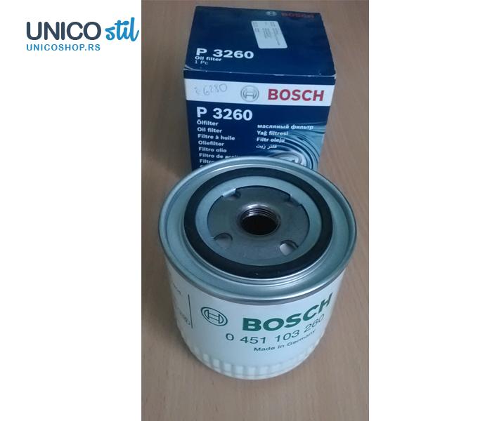 Filter ulja 0451103260 Bosch