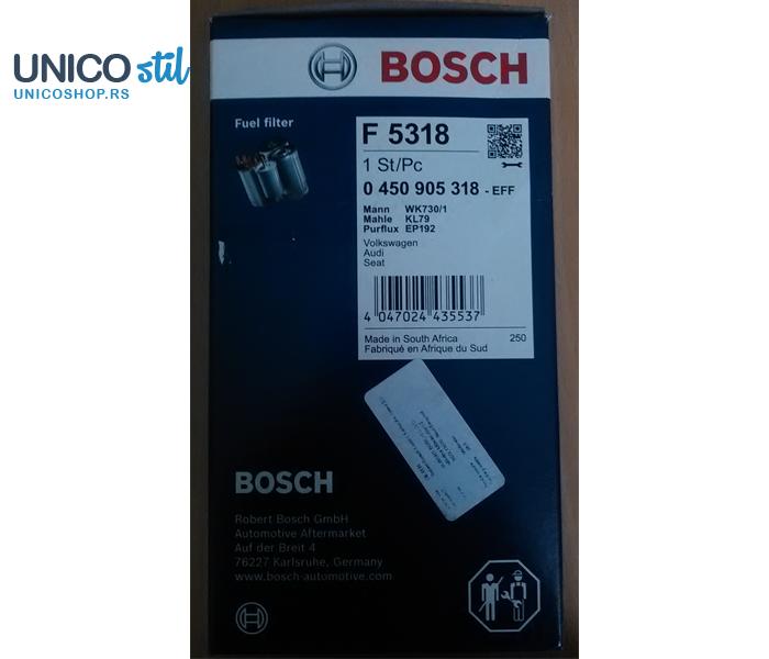 Filter goriva 0450905318 Bosch