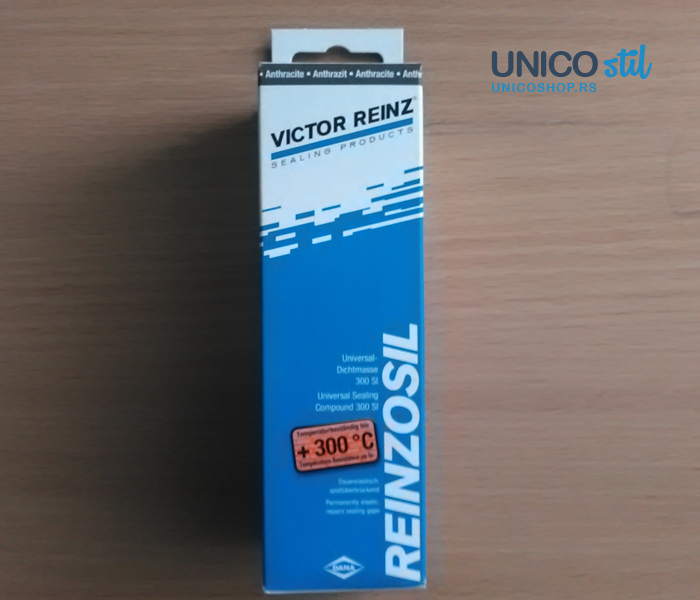 Hermetik Reinzosil tuba-crni 75g victor reinz