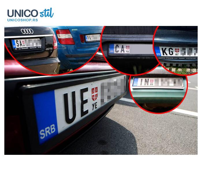 Okvir registar tablica Euro II