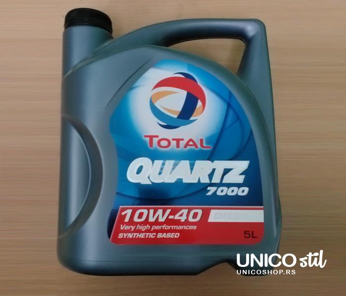 Total QD7000 10W40 5L