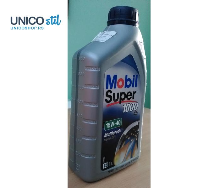 Mobil super 1000x1 15W40 1l