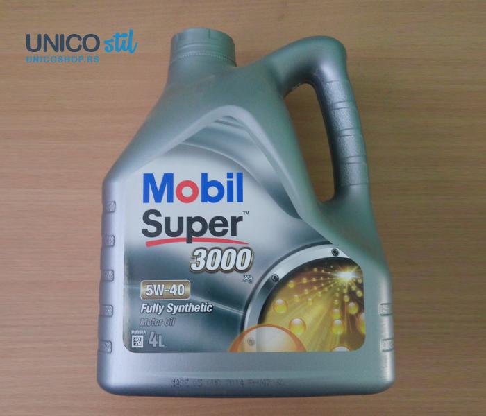 Mobil super 3000x1 5W40  4l