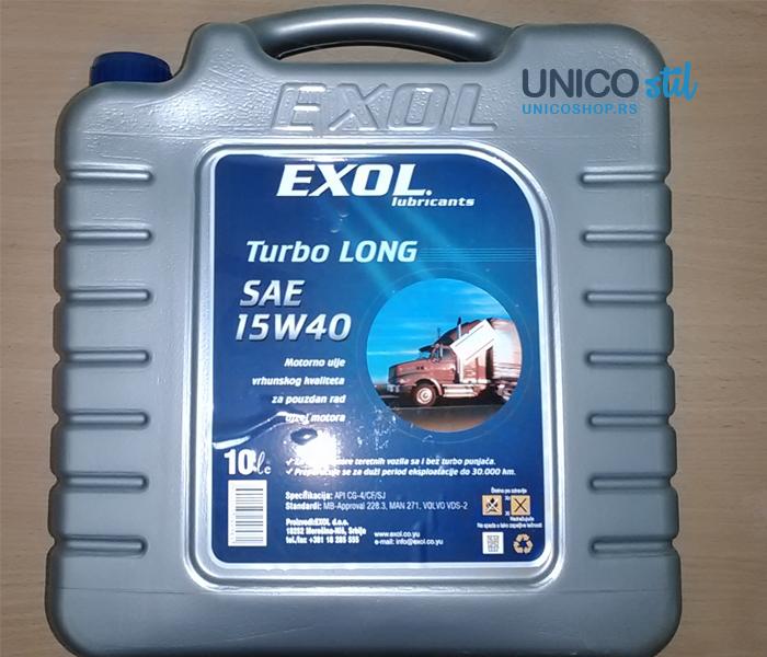 Exol Turbo Long SAE 15W40
