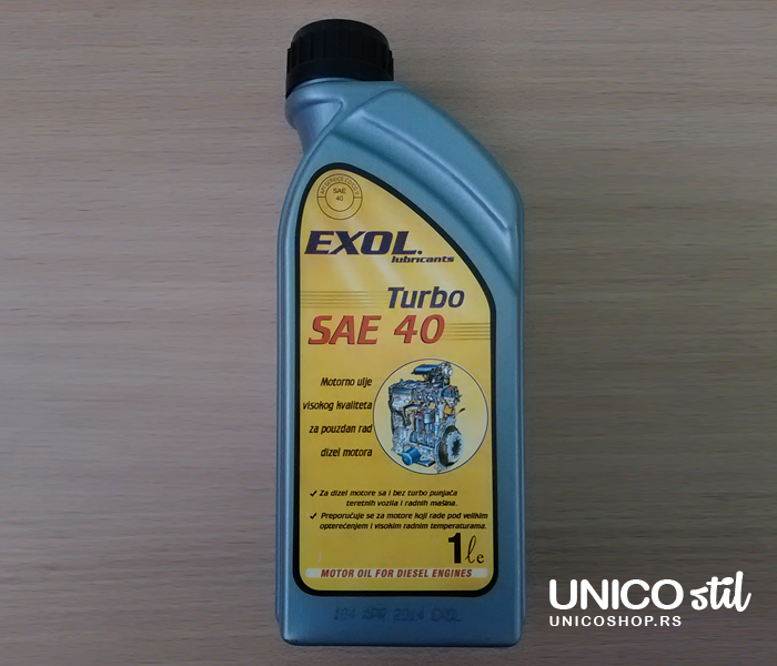 Exol Turbo SAE 40 1/1