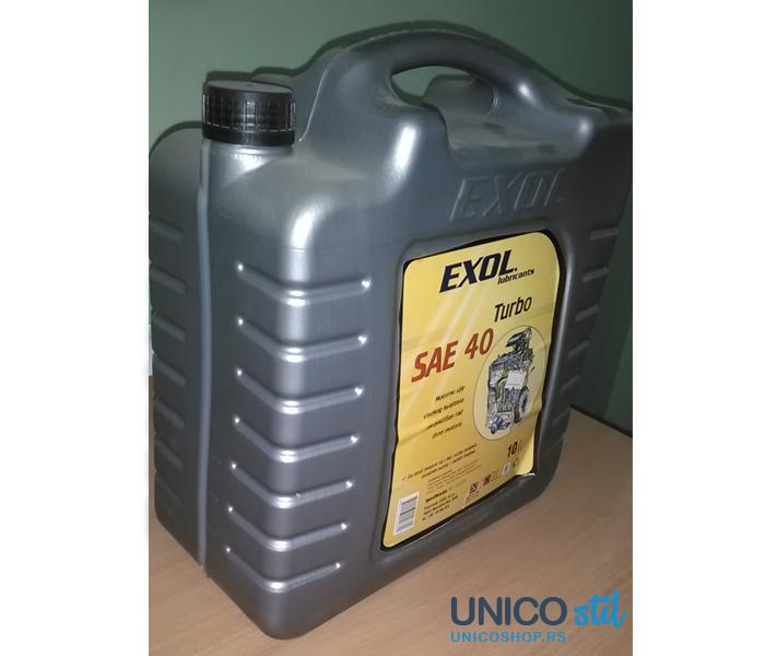 Exol Turbo SAE 40 10/1