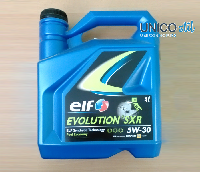 ELF Evolution SXR 5W30 4/1