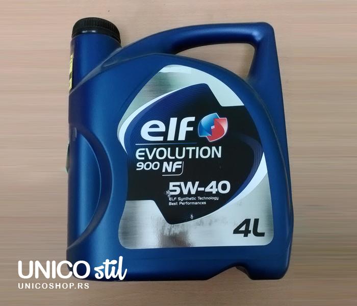 Ulje za motor 4/1 5W40 EVOLUTION 900 NF 4/1 ELF