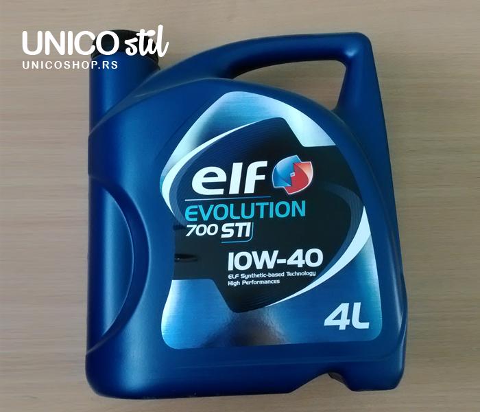 Ulje za motor 4/1 10W40 EVOLUTION 700 STI 4L 1 ELF