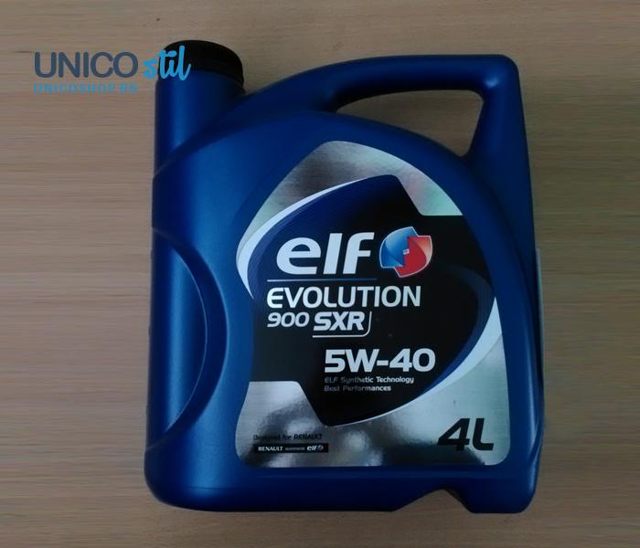 Ulje za motor 4L 5W40 EVOLUTION 900 SXR 4/1 ELF