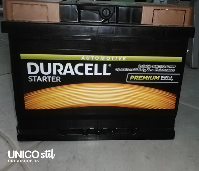 Akumulator Duracell Starter 12v,62ah, D+,DS 62