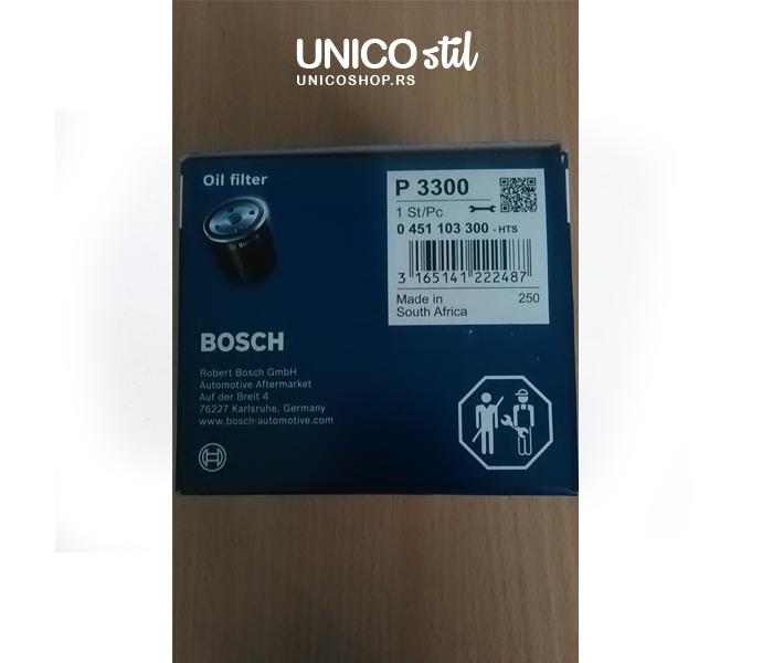 Filter ulja 0451103300 Bosch