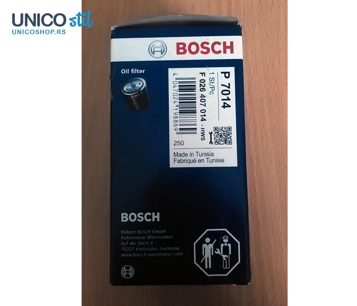 Filter ulja F026407014 Bosch