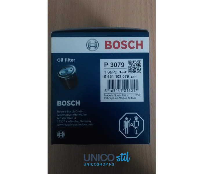 Filter ulja 0451103079 Bosch