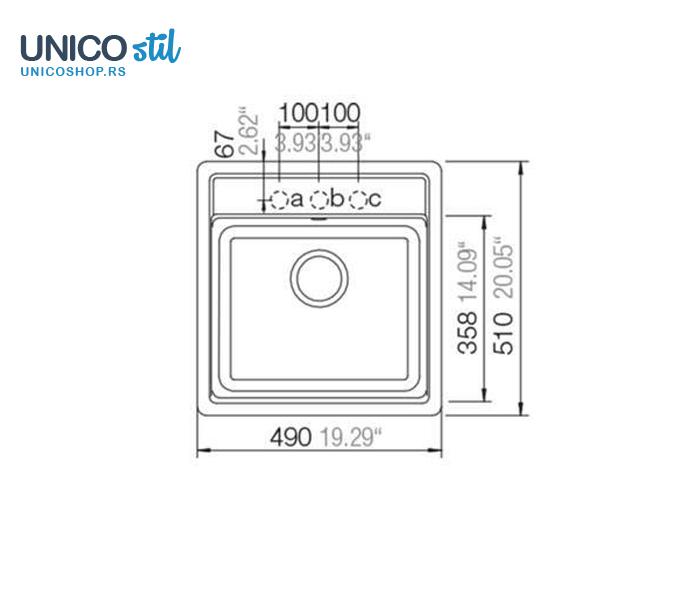 Sudopera SCHOCK Nemo N-100S COLORADO kocka 49x51